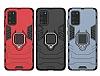 Eiroo Armor Samsung Galaxy S20 Standlı Süper Koruma Mürdüm Kılıf - Resim 3