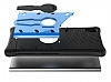 Eiroo Armored Bug Sony Xperia XA1 Standlı Ultra Koruma Gold Kılıf - Resim 3