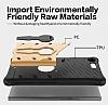 Eiroo Armored Bug Sony Xperia XZ Premium Standlı Ultra Koruma Dark Silver Kılıf - Resim 3