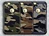 Eiroo Army iPhone 6 / 6S Ultra Koruma Kahverengi Kılıf - Resim 1