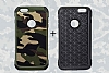Eiroo Army iPhone 6 / 6S Ultra Koruma Kahverengi Kılıf - Resim 7