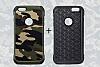 Eiroo Army iPhone 6 Plus / 6S Plus Ultra Koruma Kahverengi Kılıf - Resim 6