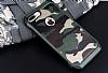 Eiroo Army iPhone 7 Plus Ultra Koruma Yeşil Kılıf - Resim 6