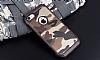 Eiroo Army iPhone 7 Ultra Koruma Kahverengi Kılıf - Resim 11