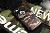 Eiroo Army iPhone SE / 5 / 5S Ultra Koruma Kahverengi Kılıf - Resim 4