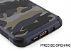 Eiroo Army Samsung Galaxy A7 2017 Ultra Koruma Yeşil Kılıf - Resim 3