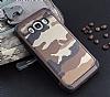 Eiroo Army Samsung Galaxy J5 2016 Ultra Koruma Kahverengi Kılıf - Resim 3