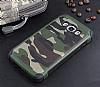 Eiroo Army Samsung Galaxy J5 2016 Ultra Koruma Yeşil Kılıf - Resim 2