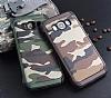 Eiroo Army Samsung Galaxy J5 2016 Ultra Koruma Kahverengi Kılıf - Resim 1