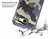 Eiroo Army Samsung Galaxy J5 2017 Ultra Koruma Kahverengi Kılıf - Resim 5