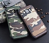 Eiroo Army Samsung Galaxy J7 2016 Ultra Koruma Yeşil Kılıf - Resim 1