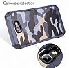 Eiroo Army Samsung Galaxy J7 Prime Ultra Koruma Kahverengi Kılıf - Resim 3