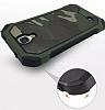 Eiroo Army Samsung Galaxy S4 Ultra Koruma Yeşil Kılıf - Resim 3