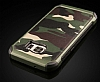 Eiroo Army Samsung Galaxy S6 Edge Ultra Koruma Yeşil Kılıf - Resim 2