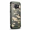 Eiroo Army Samsung Galaxy S7 Edge Ultra Koruma Yeşil Kılıf - Resim 6