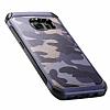 Eiroo Army Samsung Galaxy S7 Edge Ultra Koruma Lacivert Kılıf - Resim 9