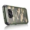 Eiroo Army Samsung Galaxy S7 Edge Ultra Koruma Yeşil Kılıf - Resim 5