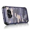 Eiroo Army Samsung Galaxy S7 Edge Ultra Koruma Lacivert Kılıf - Resim 10