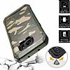 Eiroo Army Samsung Galaxy S7 Edge Ultra Koruma Yeşil Kılıf - Resim 3