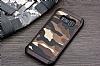 Eiroo Army Samsung Galaxy S8 Plus Ultra Koruma Kahverengi Kılıf - Resim 4