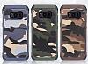 Eiroo Army Samsung Galaxy S8 Ultra Koruma Kahverengi Kılıf - Resim 3
