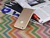 Eiroo Blade iPhone 6 Plus / 6S Plus Ultra �nce Deri Gold K�l�f - Resim: 2
