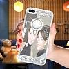 Eiroo Bling Mirror iPhone 7 Plus / 8 Plus Silikon Kenarlı Aynalı Silver Rubber Kılıf - Resim 5