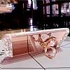 Eiroo Bling Mirror iPhone X Silikon Kenarlı Aynalı Gold Rubber Kılıf - Resim 5