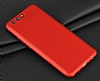 Eiroo Body Fit Huawei P10 360 Derece Koruma Kırmızı Silikon Kılıf - Resim 6