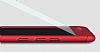 Eiroo Body Fit Huawei P10 Plus 360 Derece Koruma Kırmızı Silikon Kılıf - Resim 3