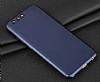 Eiroo Body Fit Huawei P10 Plus 360 Derece Koruma Lacivert Silikon Kılıf - Resim 6
