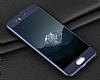 Eiroo Body Fit Huawei P10 Plus 360 Derece Koruma Lacivert Silikon Kılıf - Resim 5