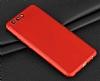Eiroo Body Fit Huawei P10 Plus 360 Derece Koruma Kırmızı Silikon Kılıf - Resim 6