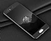 Eiroo Body Fit Huawei P10 Plus 360 Derece Koruma Siyah Silikon Kılıf - Resim 5