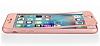 Eiroo Body Fit iPhone 6 / 6S 360 Derece Koruma Rose Gold Silikon Kılıf - Resim 3