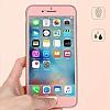 Eiroo Body Fit iPhone 6 / 6S 360 Derece Koruma Rose Gold Silikon Kılıf - Resim 6
