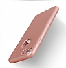 Eiroo Body Fit iPhone 7 360 Derece Koruma Rose Gold Silikon Kılıf - Resim 1