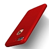 Eiroo Body Fit iPhone 7 Plus 360 Derece Koruma Kırmızı Silikon Kılıf - Resim 5