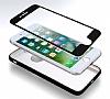Eiroo Body Fit iPhone 7 Plus 360 Derece Koruma Lacivert Silikon Kılıf - Resim 5