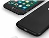 Eiroo Body Fit iPhone 7 Plus 360 Derece Koruma Siyah Silikon Kılıf - Resim 1