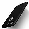 Eiroo Body Fit iPhone 7 Plus 360 Derece Koruma Siyah Silikon Kılıf - Resim 3