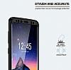 Eiroo Body Fit Samsung Galaxy S7 Edge 360 Derece Koruma Siyah Silikon Kılıf - Resim 1