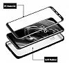 Eiroo Body Fit Samsung Galaxy S8 360 Derece Koruma Siyah Silikon Kılıf - Resim 5