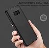 Eiroo Body Fit Samsung Galaxy S8 360 Derece Koruma Siyah Silikon Kılıf - Resim 6