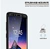 Eiroo Body Fit Samsung Galaxy S8 Plus 360 Derece Koruma Lacivert Silikon Kılıf - Resim 6