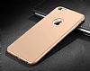Eiroo Body Thin iPhone 6 / 6S 360 Derece Koruma Gold Rubber Kılıf - Resim 3