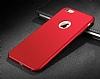 Eiroo Body Thin iPhone 6 Plus / 6S Plus 360 Derece Koruma Kırmızı Rubber Kılıf - Resim 3