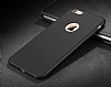 Eiroo Body Thin iPhone 6 Plus / 6S Plus 360 Derece Koruma Siyah Rubber Kılıf - Resim 3
