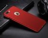 Eiroo Body Thin iPhone 7 Plus 360 Derece Koruma Kırmızı Rubber Kılıf - Resim 4