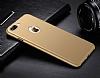 Eiroo Body Thin iPhone 7 Plus 360 Derece Koruma Gold Rubber Kılıf - Resim 3
